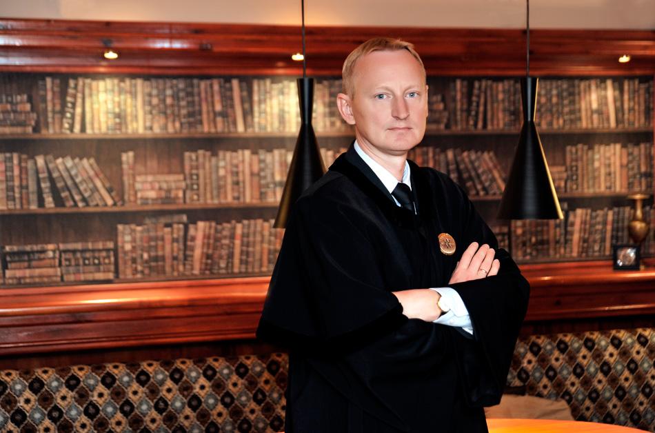 Advokatas Alvydas Krištupas